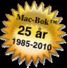 Mac-Bok™ 25 år